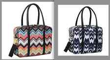 MISSONI FOR TARGET Overnight Travel Tote Bag Luggage COLOR B/W  FREE Localpickup