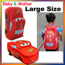 Child Disney Pixar Cars McQueen Kids Boy Girl Backpack School Bag Birthday Gift