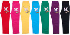 KK RABBIT Girls Bright Colour Pop Stretch  WINTER  Skinny Jeans Age 4 5 6 7 8y