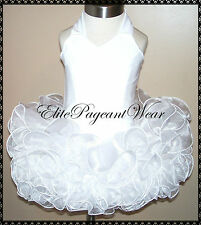 National Pageant Dress Shell  sizes 6mos to 5/6 Girls