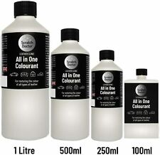 ALL IN ONE Leather Colourant. Repair & Recolour. Dye Stain Pigment Paint Colour