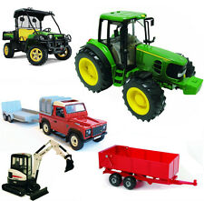 Britains Big Farm Toy Tractor - with Lights & Sounds 1:16 Model -John Deere etc!
