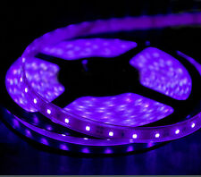 Home Theater Theatre floor LED Lighting Strip SMD 5050 300 LEDs 20/ft PURPLE
