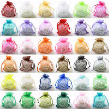 Best quality organza wedding favor gift Jewellry bags packing pouches Free Post