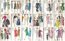 Vintage Vogue 1960s Dress Sewing Pattern Misses Size 14 Bust 34 ~ Your Choice