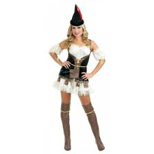 Female Robin Hood Costume Adult Halloween Fancy Dress