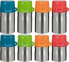 Trudeau Eco Friendly Stainless Steel Fuel Soup Food Flask Container + Spoon