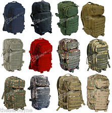 ZAINO INCURSORE TATTICO MOLLE SYSTEM US ASSAULT BACKPACK Militare SoftAir Scout