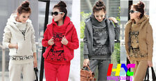 Autumn/winter new fashion popular design women's hoodies three-piece Sport Suit