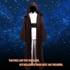 STAR WARS JEDI Hooded Robe Cloak Cape Costume SZ:S-XXL Halloween Christmas Gift