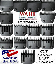 WAHL ULTIMATE COMPETITION SERIES BLADE*Fit Most Oster,Andis,Laube A5 AG Clippers