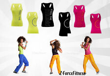 Zumba Fitness Sexy FEELIN' IT RACERBACK Tank Top 2 Clr Choices NWT Clearance