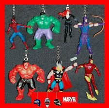 MARVEL AVENGERS FIGURES CEILING FAN PULLS-HULK, THOR, HAWKEYE, BLACK WIDOW ETC..