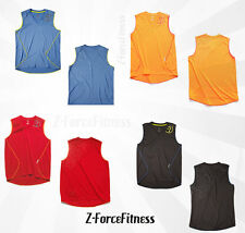 ZUMBA Unisex ~ Z PERFORMANCE FADEAWAY MUSCLE Tank Top ~ 4 colors ~ NEW Workout ~