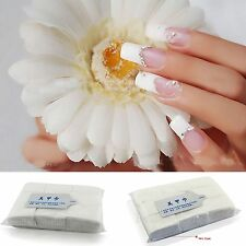 900x Nail Art Wipes Cotton Paper Pads Nail Polish Remover Cleaner Make-up Cotton