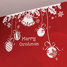 Christmas Decoration Bell Ball Star Snow Flake Wall Stickers / Wall Decal
