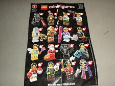 Lego Series 8 minifigures will ship worldwide New choose you character