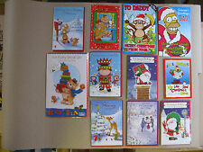 Christmas Cards Wife Brother Dad Santa Best Wishes Novelty Humour Funny Merry