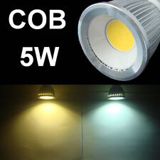 New 5W COB LED wide angle light lamp white warm E27 E14 GU10 G5.3 MR16 bulb lamp
