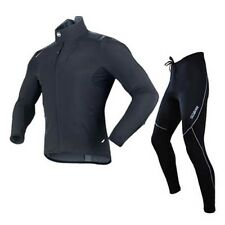 Sobike Winter Jacket-Alien Fleece Cycling Suits Fleece Tights-Cruise Black