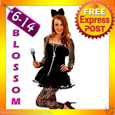 G79 Madonna Wild Child Pop Diva 80s Clothing Fancy Dress Up Party Rock Costume