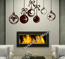 Christmas Decoration Vinyl Wall Stickers / Shop Window Xmas Sign /Huge Size/ S26