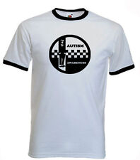 102a. Autism Adults T-shirts -  Autism Awareness SKA