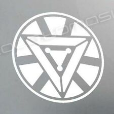 IRON MAN 2 ARC REACTOR sticker decal AVENGERS Stark Industries