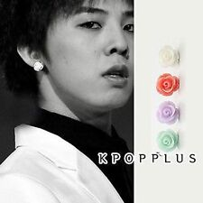 BIGBANG BIG BANG G-DRAGON - Pastel Flower Silver Spear Earring [BB90]