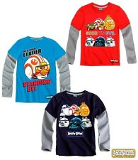 T-SHIRT MANCHES LONGUES ANGRY BIRDS !!!