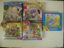 Jigsaw Cartoon Style Kids Pictures Trains Toy World Bug World Enchanted Bear BN