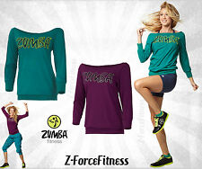 Zumba Fitness ~Sexy FLARE HEADLINER TOP Shirt Top ~ New ~ Most Sizes ~ 2 Colors