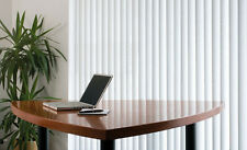 Made to measure Vertical Blind By Blinds 247.  Evita fabric waterfall design