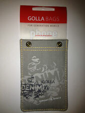 """Golla Bags""""Rivetto""""G1072 Slim Pocket Case for iPhone3,4,4S,iPod,mp3Player,Smart"""