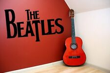 The Beatles Large Vinyl Beautiful Wall Sticker & Wall Decal. Many colours. New.
