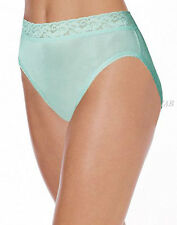 10 pack HANES Her Way Nylon Hi Cut Panties - Style P573CA - Assorted Colors