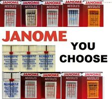 JANOME SEWING MACHINE QUALITY NEEDLES Fit all Standard Normal Domestic Machines