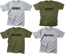 Kids Physical Training Army Marines Gym T-Shirt