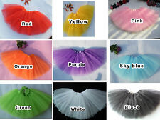 Girls Child Ballet Tutu Skirt Dance Party Dress Fairy Princess Dressup Costume