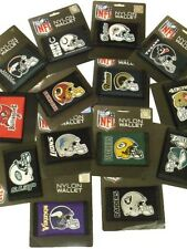 NFL Trifold Nylon Wallets Official Licensed Velcro Wallet All Teams NTR02193