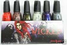 China Glaze Nail Polish Lacquer Wicked Halloween Collection U Pick Color!