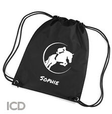 Personalised Horse Lovers  Kit  Bag. Great Gift Boys/ Girls  Personalised