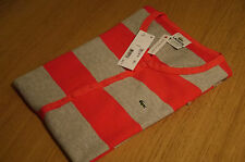 LACOSTE MiniDress red/grey size 4 GENUINE NEW BNWT rrp £140 ............. (5531)