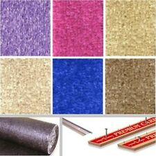 cheap Stain Resistant TWIST PILE CARPET Pink Blue Lilac Harvest Coffee Sand