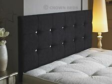 DIAMONTE MUNICH HEADBOARD AVAILABLE IN  3FT,4FT,4FT6,5FT,6FT  WITH HEIGHT OPTION