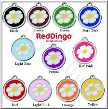 Red Dingo - Daisy - Engraved Dog ID Tag - Choose Your Size and Color