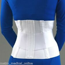 "FLA 10"" Lumbar Sacral Support with Abdominal Belt"