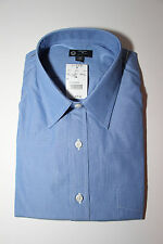 J.Crew Blue Point-Collar 120s Two-Ply Dress Shirt