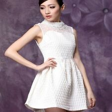2013 New Spring OL Slim Diamond Lace High-end Women's Dress Lantern Skirts M/L