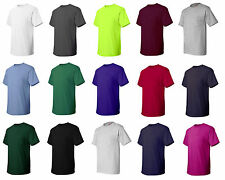 Hanes TAGLESS T-Shirt with a Pocket, Choose from Size S-3XL (5590)